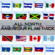 All North American Flag Pack