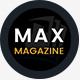 Max Magazine - News & Blog HTML Template