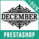 December - Responsive Prestashop Theme