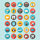 30 Flat Icons Traveling