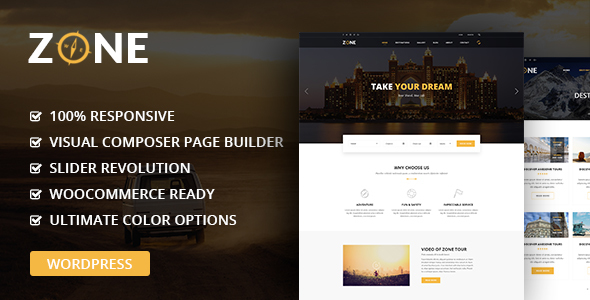 Download Zone - Tours and Travel WordPress Responsive Theme nulled download