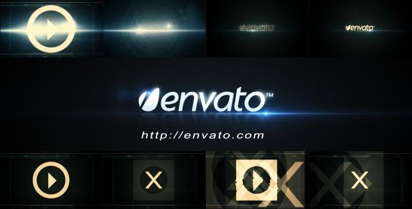 Futuristic Logo Opener