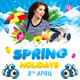 Spring Holidays/Easter Celebration Party Flyer - GraphicRiver Item for Sale