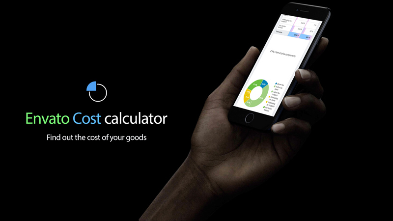 Envato Cost Price and Earnings Calculator - 1