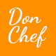 Don Chef - Template PSD Resturant