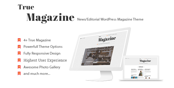 Download True Magazine - News/Editorial WordPress Theme nulled download
