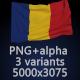 Flag of Romania - 3 Variants