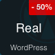 Real - Blog and Magazine Clean WordPress Theme