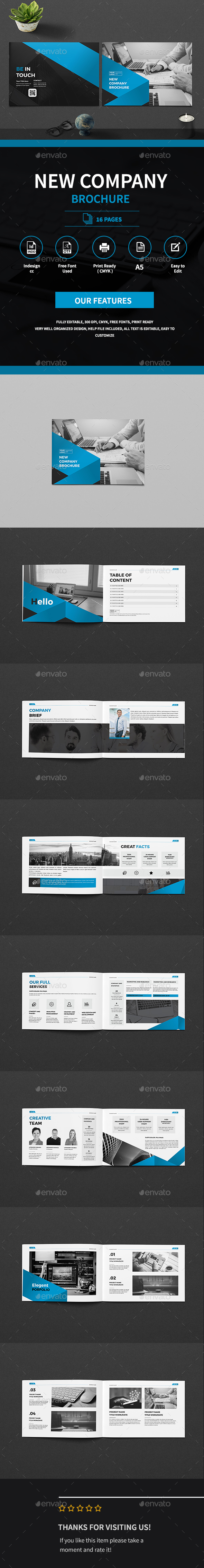Graphicriver A5 Business Company Brochure 19275574 torrent