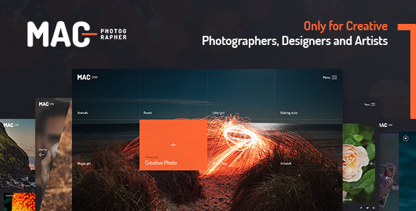 Download MAC - Photography Fullscreen WordPress Theme nulled download