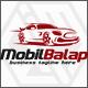 Mobil Balap - Race Car Logo