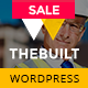TheBuilt - Construction, Architecture & Building Business WordPress theme