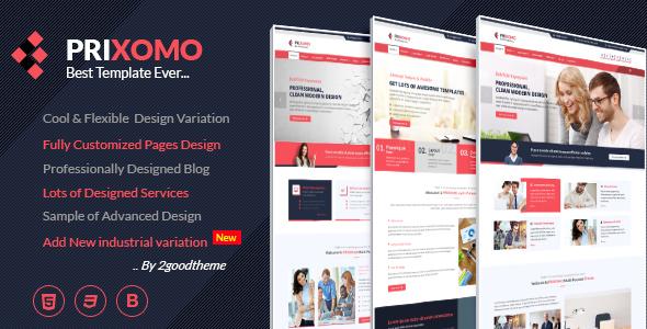 Prixomo - Responsive Multi-Purpose HTML5 Template