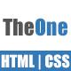 TheOne - Portfolio One Page Templete