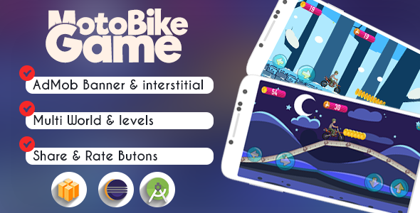 Download MotoBike Game | Buildbox & eclipse | Admob nulled download