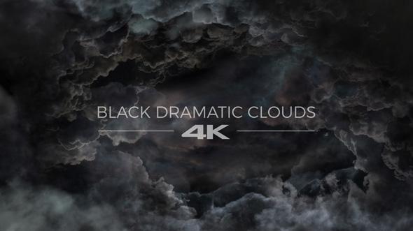 VideoHive Black Dramatic Clouds 19276254