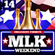 MLK Weekend Party Flyer Template