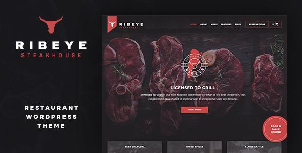 Ribeye: Steakhouse & Restaurant WordPress Theme