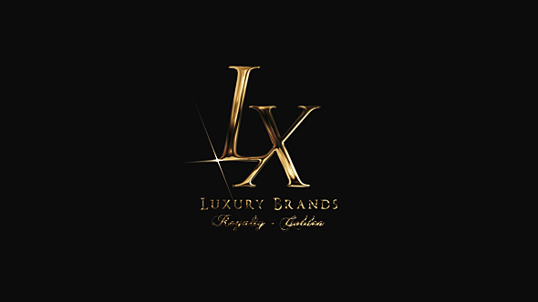 VideoHive Golden Luxury Logo Reveal 19276515