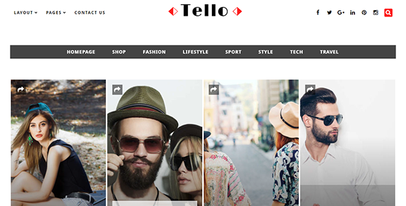 Download Tello - WordPress Magazine/Blog Theme nulled download