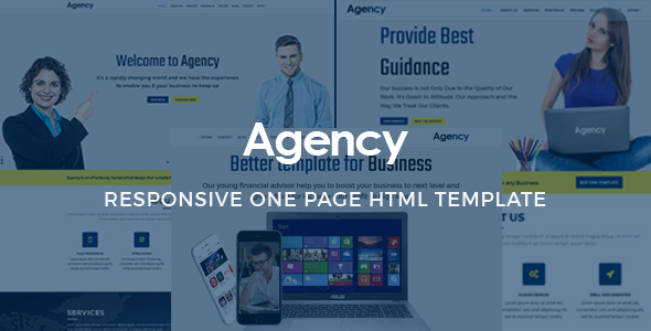 Agency - Onepage Multipurpose Template