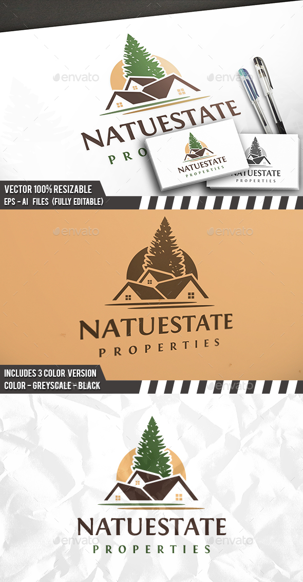 Nature Real Estate Logo