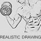 Realistic Drawing Ps Action