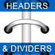Headers & Dividers with Binding Rings  - GraphicRiver Item for Sale