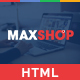 Maxshop - Multipurpose eCommerce HTML Template
