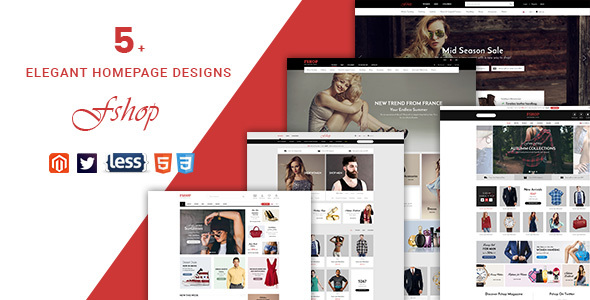 Download Fshop - Responsive Magento 2 Fashion Store Theme nulled download