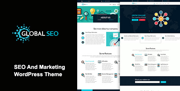Download GLOBAL SEO - Marketing And SEO Responsive WordPress Theme nulled download
