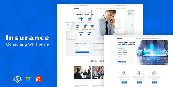 Download Insurance - Consulting WordPress Theme nulled download