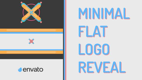 VideoHive Minimal Flat Logo Reveal 19278788