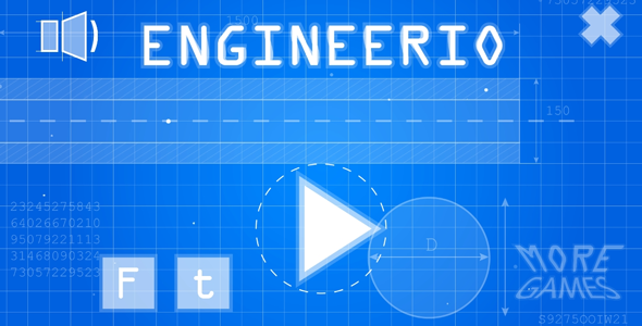 Engineerio - HTML5 game. Construct2 (.capx) + mobile