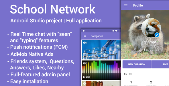 Download School Network nulled download