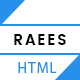RAEES - Multipurpose HTML5 Responsive Template