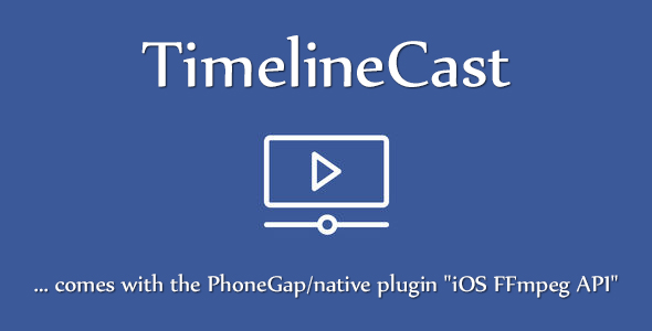 Download TimelineCast - Ionic, AngularJS, Cordova & FFmpeg Streaming App Template nulled download