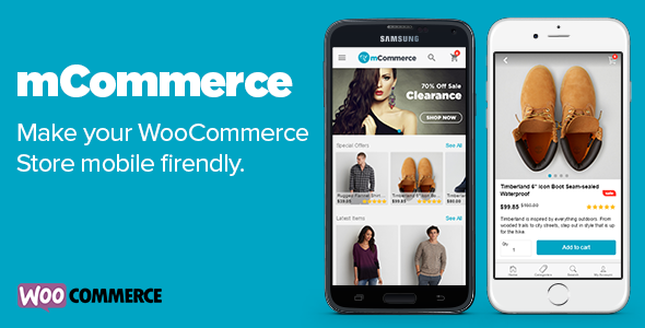 Download mCommerce - WooCommerce Mobile Theme nulled download