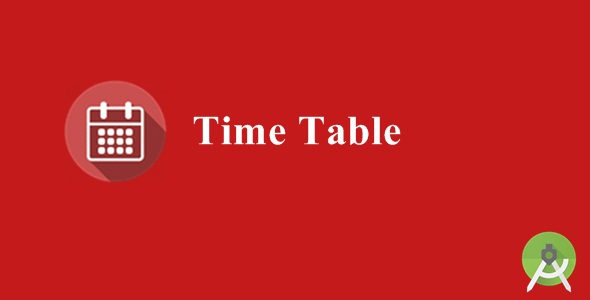 Download Time Table nulled download