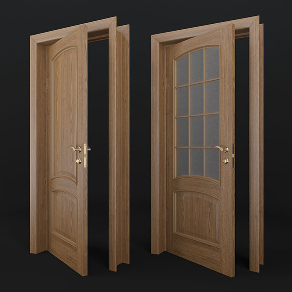 Doors - 3DOcean Item for Sale