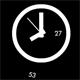 Analog clock with a swing - ActiveDen Item for Sale
