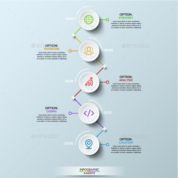 Graphicriver Circle Connection Timeline Infographics 19282170