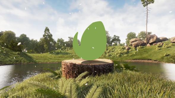 Realistic Natural Logo