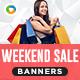 Weekend Sale Banners