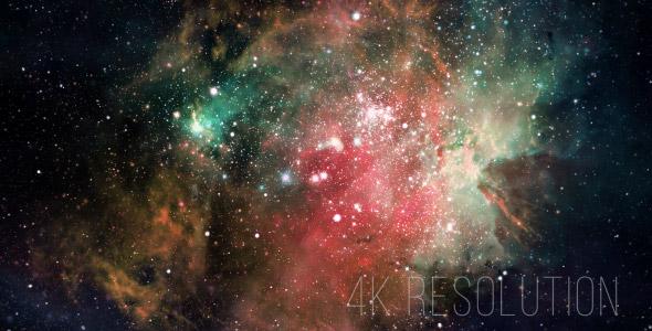 VideoHive Space Nebula 4K 19283104