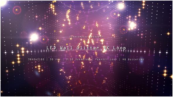 VideoHive LED Wall Glitter 5 19283124