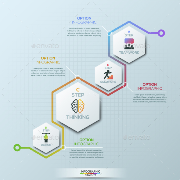 Graphicriver Modern Infographic Process Template 19283157