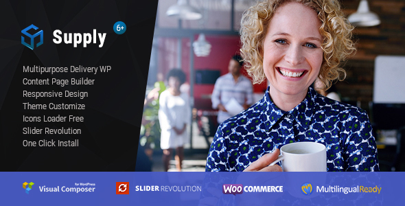 Supply - Water & Coffee delivery WordPress Theme