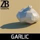 Lowpoly Garlic