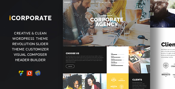 Download iCorporate - Multipurpose Creative  Corporate nulled download